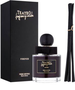 Teatro Fragranze Nero Divino diffuseur d'huiles essentielles avec recharge (Black Divine)