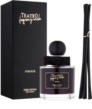 Teatro Fragranze Nero Divino dyfuzor zapachowy z napełnieniem (Black Divine)