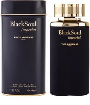 Ted Lapidus Black Soul Imperial Eau de Toilette pentru bărbați