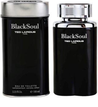 Ted Lapidus Black Soul Eau de Toilette para hombre
