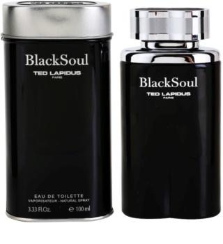 Ted Lapidus Black Soul Eau de Toilette pentru bărbați