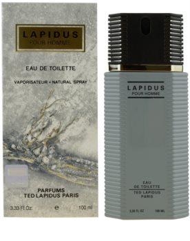 Ted Lapidus Lapidus Pour Homme toaletní voda pro muže