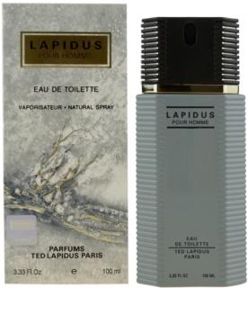Ted Lapidus Lapidus Pour Homme туалетная вода для мужчин