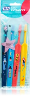 TePe Kids zubní kartáčky pro děti extra soft 4 ks