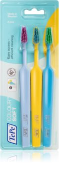 TePe Colour Soft Soft Toothbrushes 3 pcs