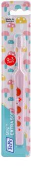 TePe Mini Illustration зубна щітка для дітей зі звуженою головкою екстра м'яка