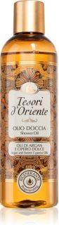 Tesori d'Oriente Argan & Cyperus Oils sprchový olej