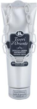 Tesori d'Oriente White Musk Duschcreme für Damen