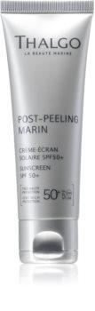 Thalgo Post-Peeling Marin cremă cu protecție solară 50+