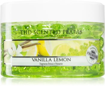 THD Home Fragrances Vanila & Lemon parfymerad pärlor
