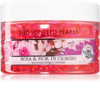 THD Home Fragrances Rosa & Fior Di Ciliegio vonné perly
