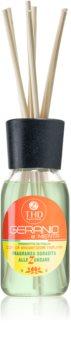THD Home Fragrances Geranio e Menta aroma diffuser with filling