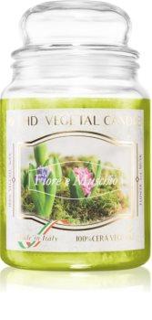 THD Vegetal Fiore E Muschio illatos gyertya