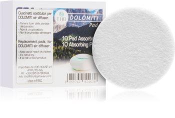 THD Dolomiti Air Absorbing Pads parfümolaj elektromos diffúzorba Dolomiti Air Portable