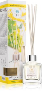 THD Botanic Uvabianca Mimosa diffuseur d'huiles essentielles avec recharge