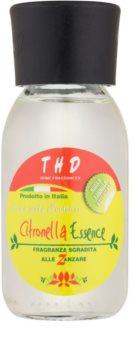 THD Home Fragrances Citronella Essence aroma difusor com recarga