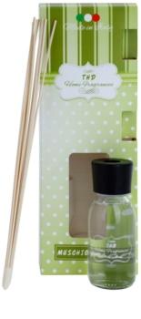 THD Home Fragrances Muschio Bianco diffuseur d'huiles essentielles avec recharge