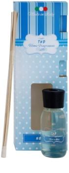 THD Home Fragrances Noir diffuseur d'huiles essentielles avec recharge