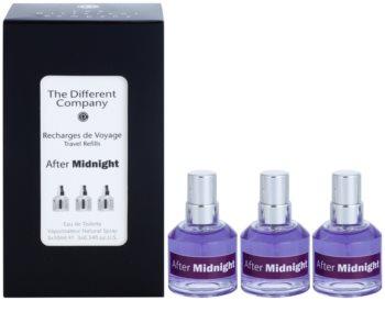 The Different Company After Midnight eau de toilette unisex 3 x 10 ml (3x recambio con difusor)