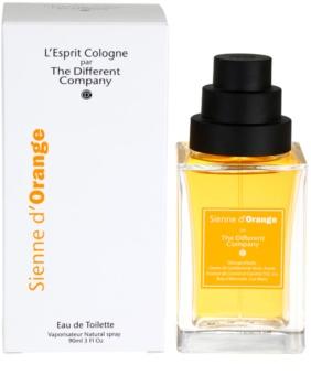 The Different Company Sienne d´Orange Eau de Toilette unissexo 90 ml