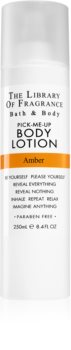The Library of Fragrance Amber Body Lotion