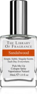 The Library of Fragrance Sandalwood eau de cologne mixte