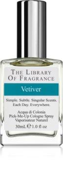 The Library of Fragrance Vetiver eau de cologne pour homme