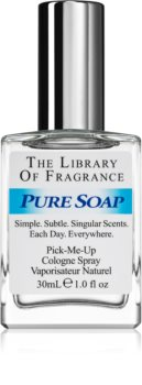The Library of Fragrance Pure Soap acqua di Colonia unisex