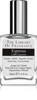 The Library of Fragrance Espresso eau de cologne mixte