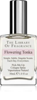 The Library of Fragrance Flowering Tonka eau de cologne unisex