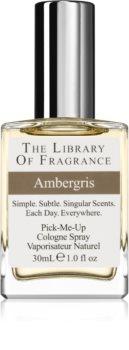 The Library of Fragrance Ambergris eau de cologne mixte