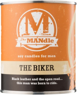 The MANdle The Biker scented candle