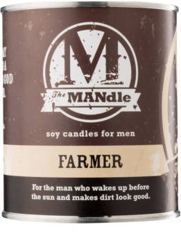 The MANdle Farmer vela perfumada