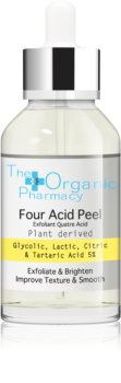 The Organic Pharmacy Four Acid Peel Peeling-Serum zur Verjüngung der Gesichtshaut