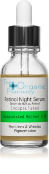 The Organic Pharmacy Fine Lines & Wrinkles Anti-Aging Retinol-Serum mit einer Pipette