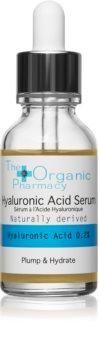 The Organic Pharmacy Plump & Hydrate sérum combleur à l'acide hyaluronique avec pipette