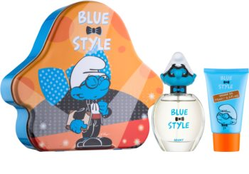 The Smurfs Blue Style Brainy подаръчен комплект II. за деца