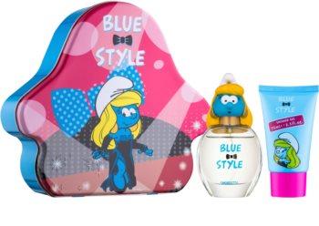 The Smurfs Blue Style Smurfette Gift Set I.