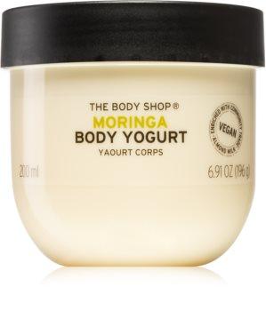 The Body Shop Moringa test jogurt
