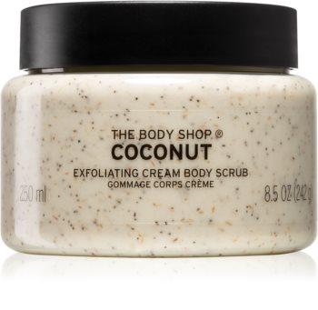 The Body Shop Coconut tělový peeling s kokosem