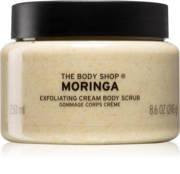 The Body Shop Moringa krémový peeling