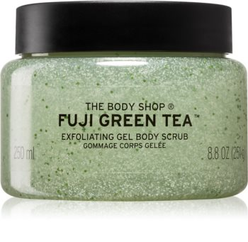 The Body Shop Fuji Green Tea tělový peeling se zeleným čajem