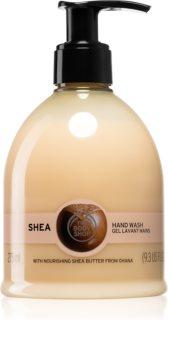 The Body Shop Shea folyékony szappan bambusszal
