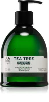 The Body Shop Tea Tree flüssige Seife für die Hände