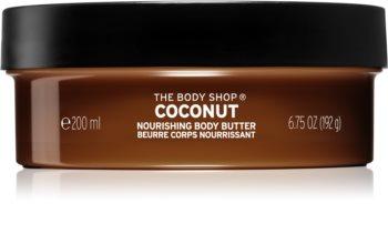 The Body Shop Coconut tělové máslo s kokosem