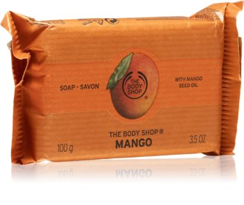 The Body Shop Mango přírodní tuhé mýdlo