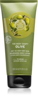 The Body Shop Olive vyživující tělové mléko s olivovým olejem