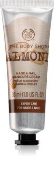 The Body Shop Almond feuchtigkeitsspendende Creme für Hände und Fingernägel