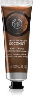 The Body Shop Coconut krém na ruce s kokosem