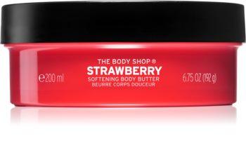 The Body Shop Strawberry tělové máslo
